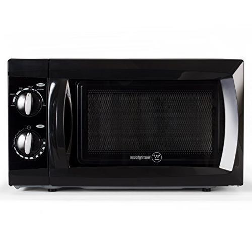 0 6 cubic feet westinghouse wcm660b wcm660w 600 watt counter top rotary microwave oven black mimbarschool com ng