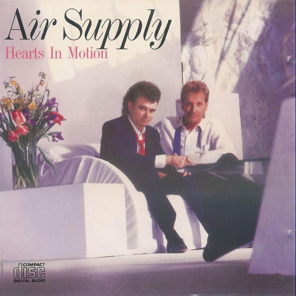 Cartula Frontal De Air Supply Hearts In Motion Portada