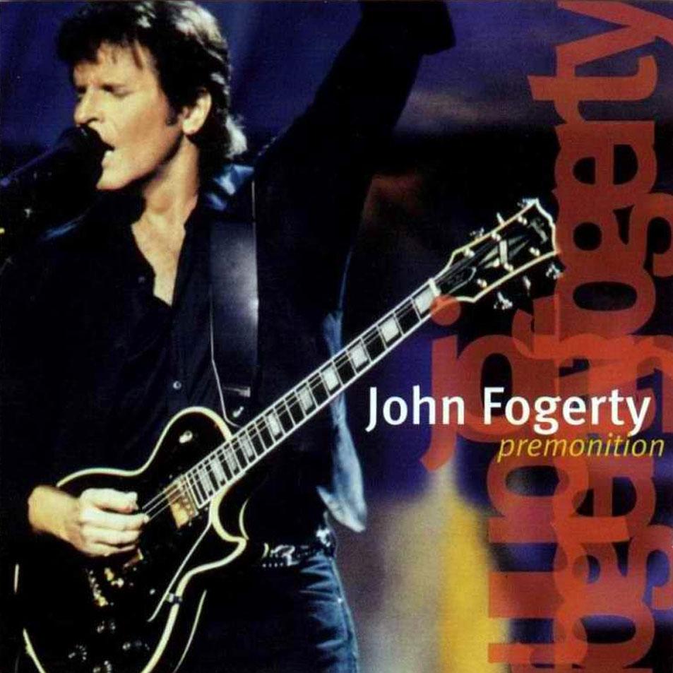 Cartula Frontal De John Fogerty Premonition Portada