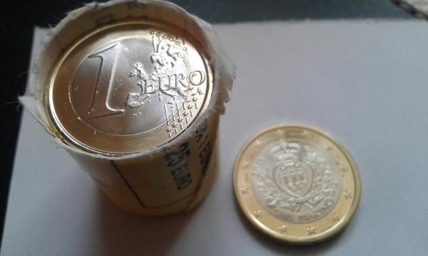 1 евро 2015 Сан Марино Лот №6536381988 - купить на Crafta.ua