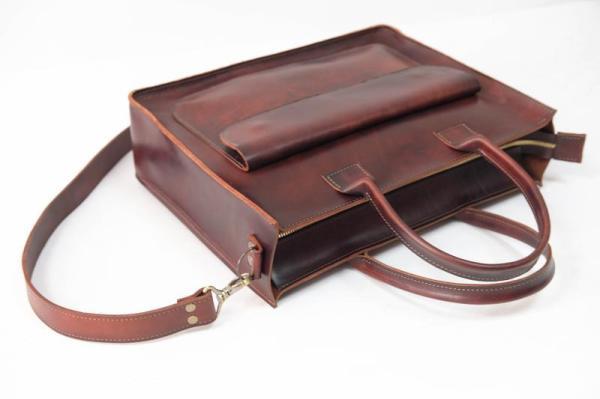 """Женская сумка """"Модель №35"""" Кожа Итальянский краст цвет ..."""