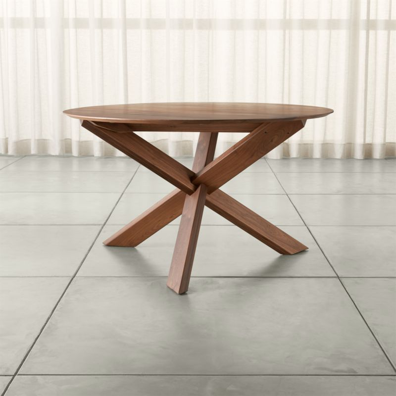 """Apex 51"""" Round Dining Table + Reviews"""