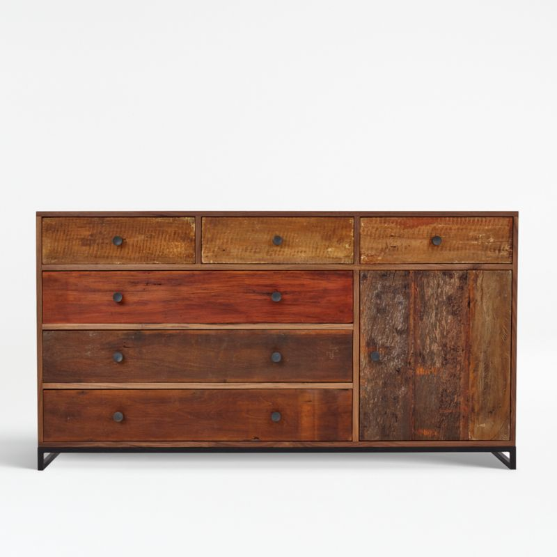 atwood reclaimed wood dresser reviews crate and barrel canada