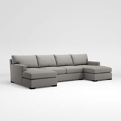 axis 3 piece sectional crate and barrel