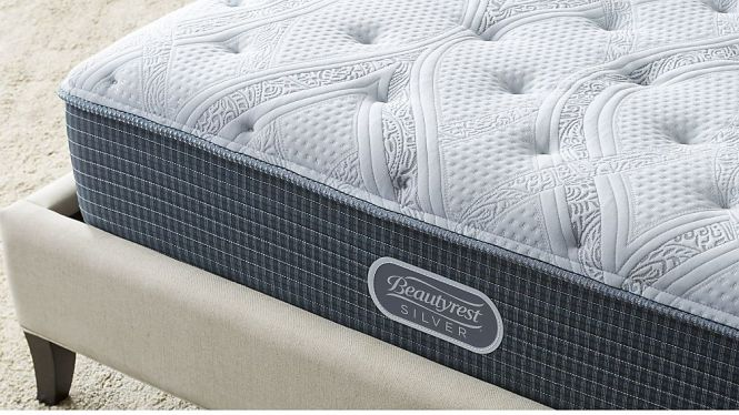 Simmons King Beautyrest Silver Plush Mattress