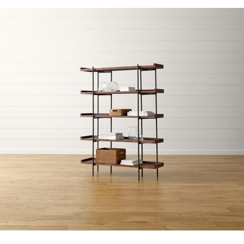 Beckett 5 High Shelf Sable Reviews Crate And Barrel