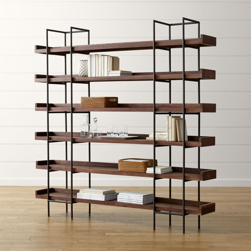 beckett 6 high shelf crate and barrel on crate and barrel id=63148