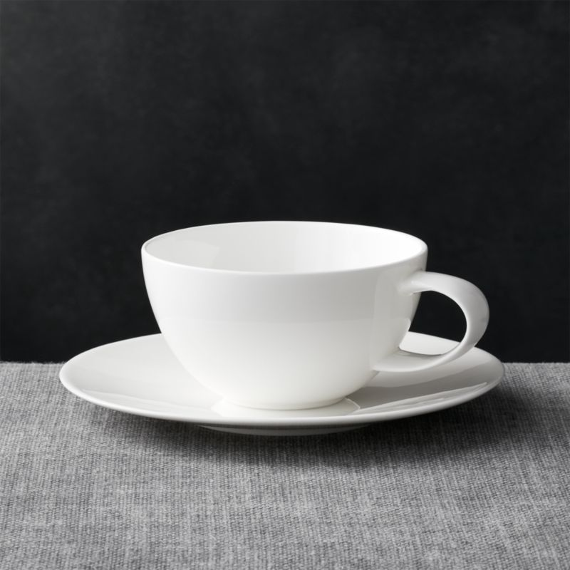 Bennett Cup And Saucer Crate And Barrel