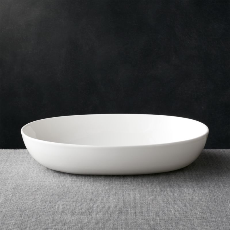 Bennett Oval Large Serving Bowl Crate And Barrel