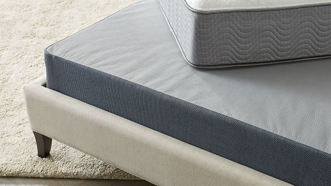 Simmons Beautysleep Triton Low Profile Box Spring Crate And Barrel