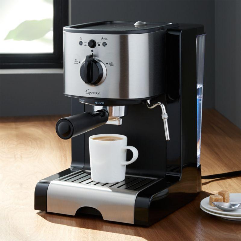 Capresso Ec100 Espresso Machine Reviews Crate And Barrel