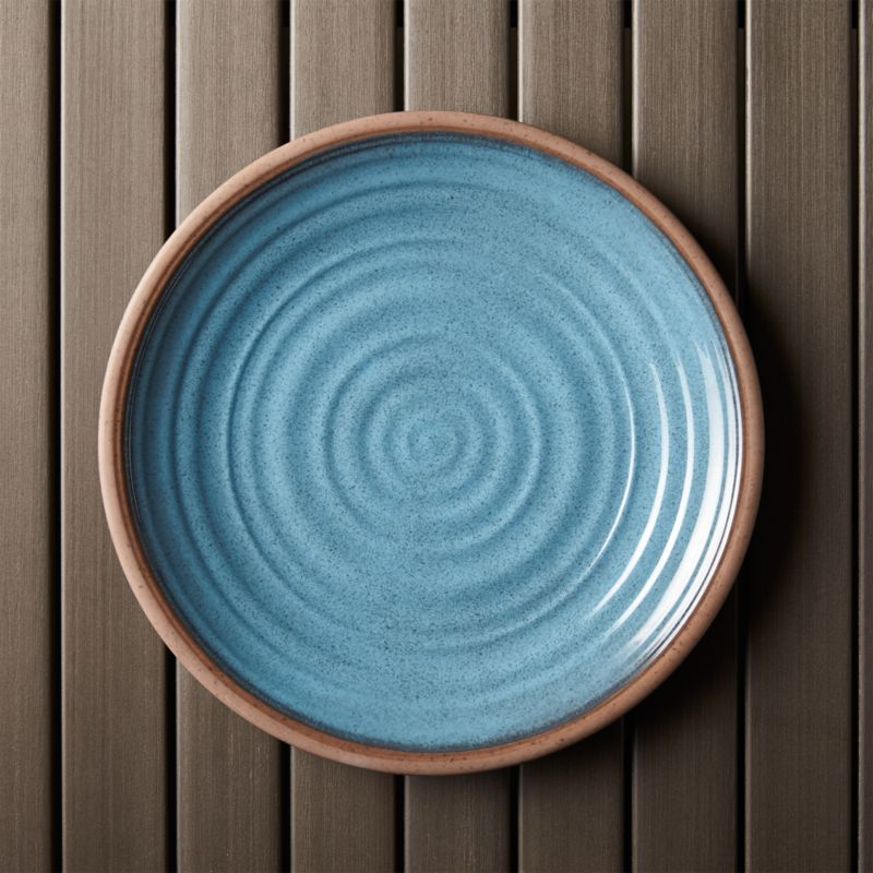 Caprice Blue 10 5 Quot Melamine Plate Reviews Crate And Barrel