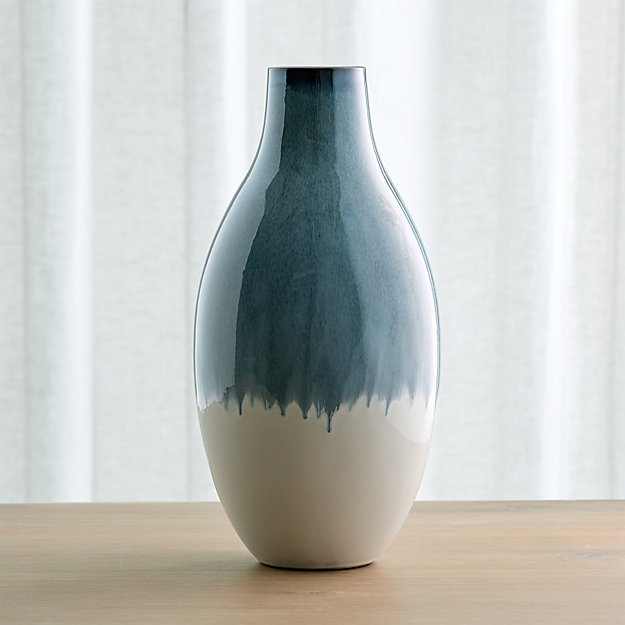 Cascade Large Ombre Vase Crate And Barrel