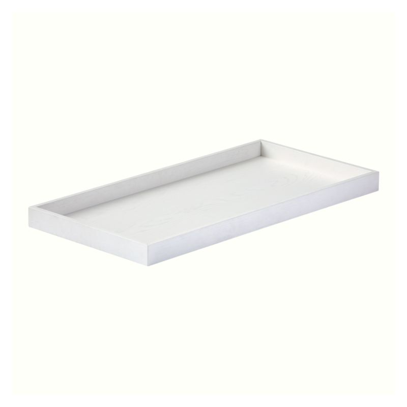 White Glaze Topside Changing Table Topper + Reviews