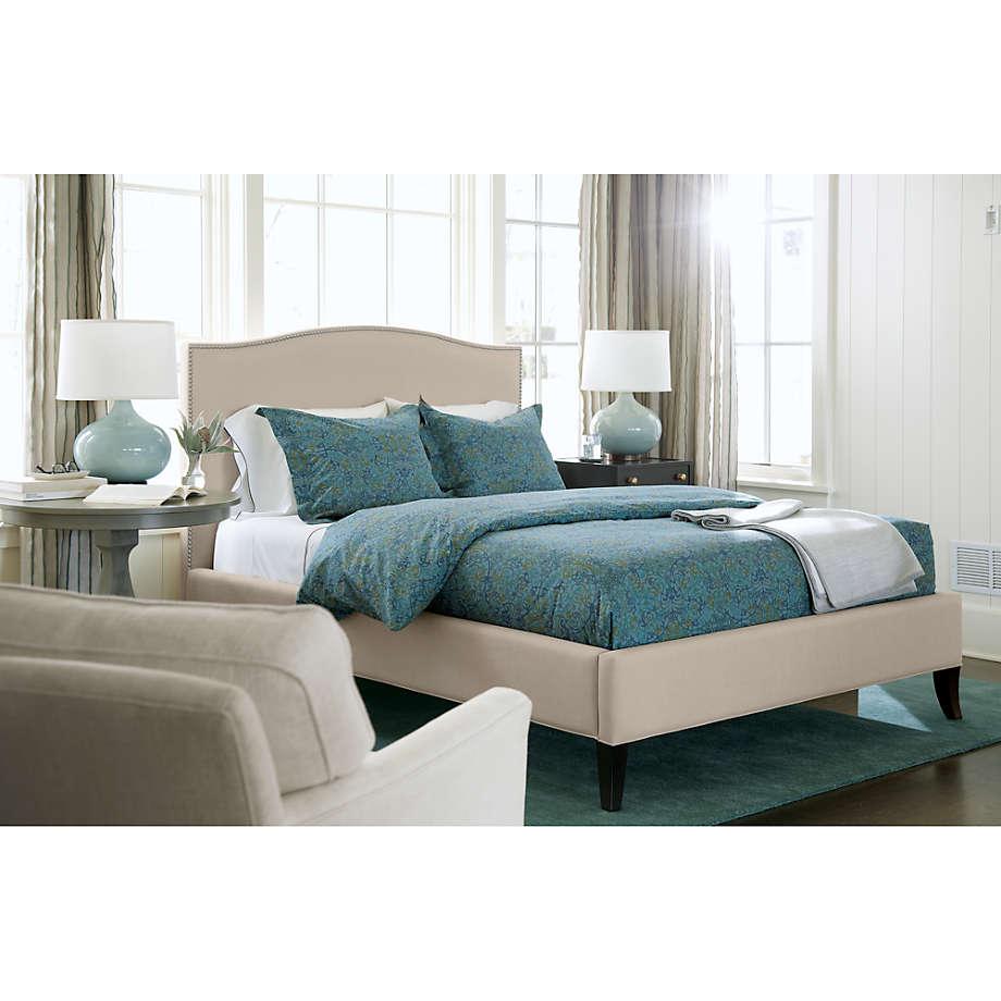 colette upholstered bed 52 5