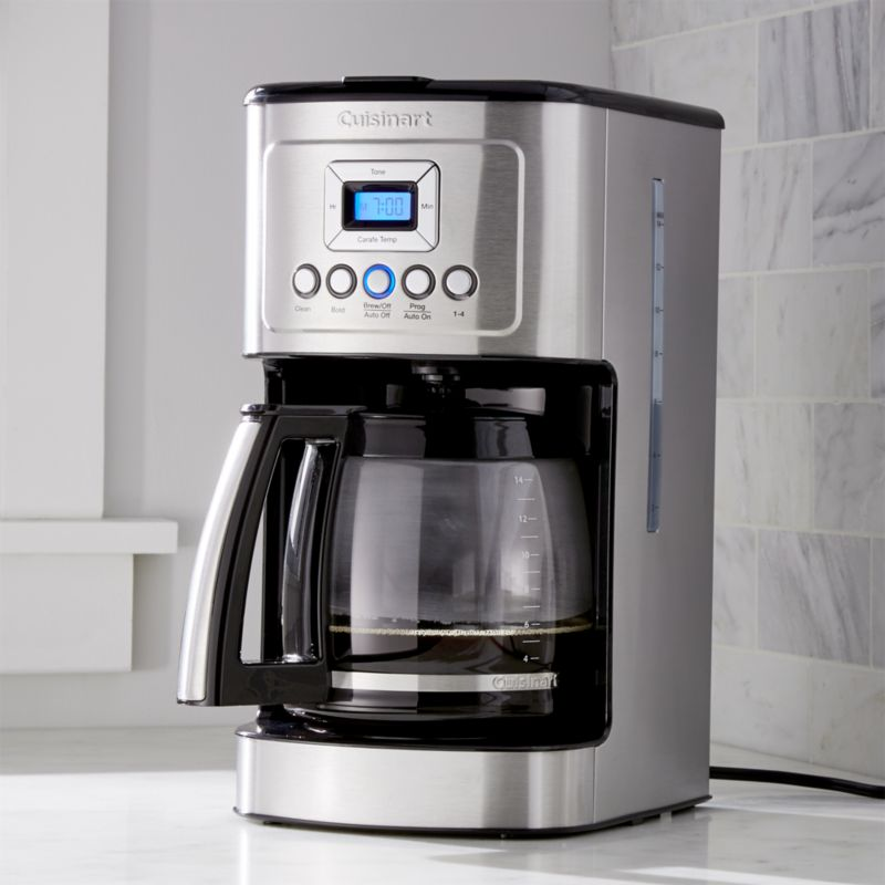 Cuisinart 14 Cup Programmable Coffee Maker Crate And Barrel