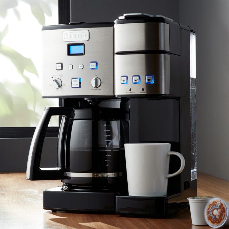 Dual White Makers Coffee