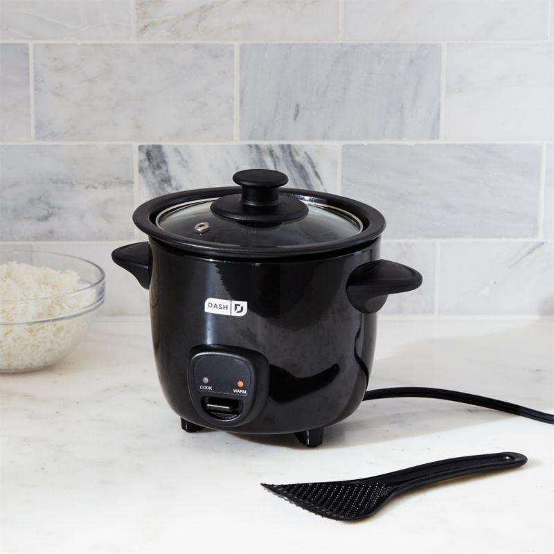 Dash Mini Rice Cooker Black Reviews Crate And Barrel