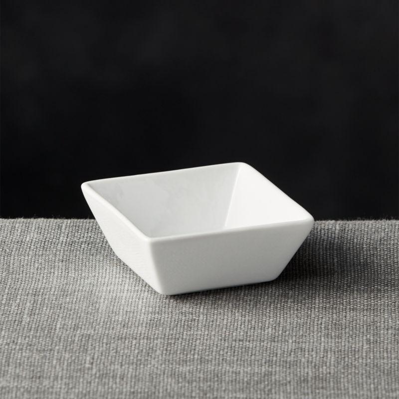 Deep Sauce Dish Reviews Crate And Barrel
