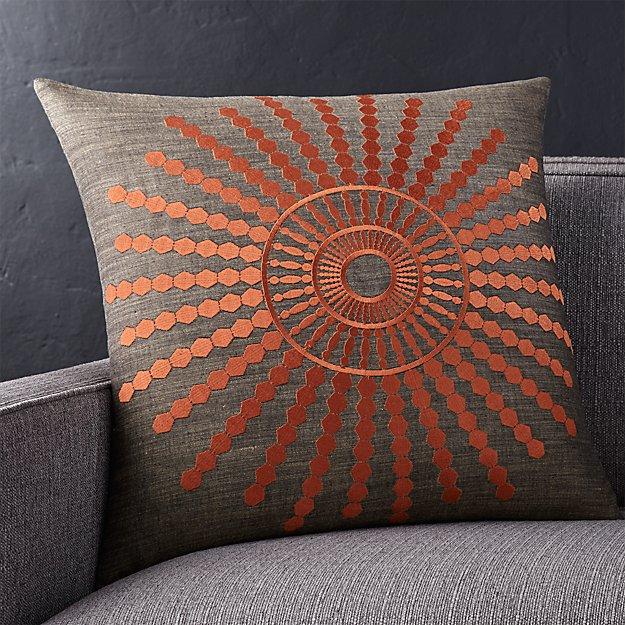 "Doucette Rust 20"" Pillow"