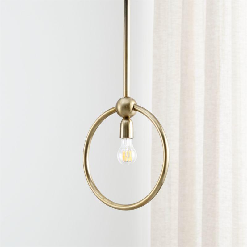 Circle Light Pendant