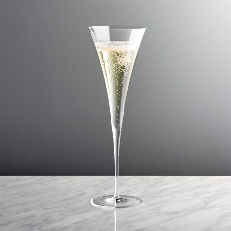 Enoteca Toasting Champagne Flute Reviews Crate And Barrel