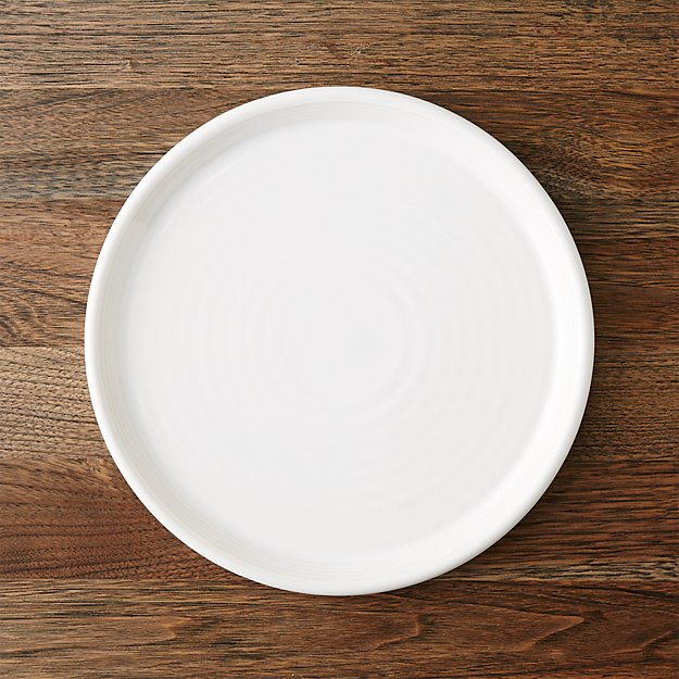 Farmhouse White Dinner Plate Crate And Barrel