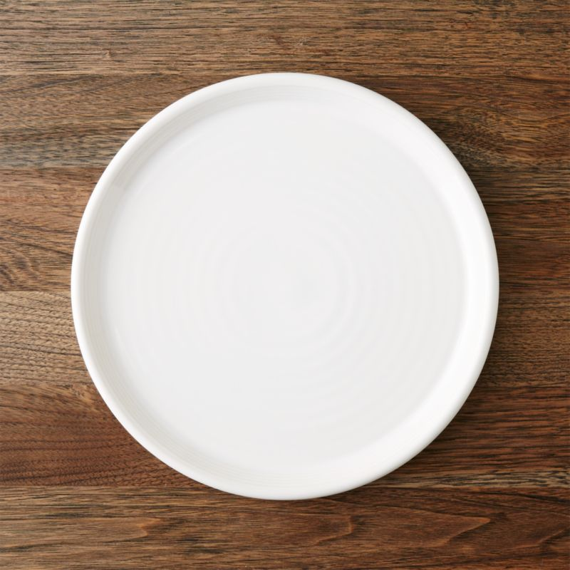 Farmhouse White Dinner Plate Reviews Crate And Barrel