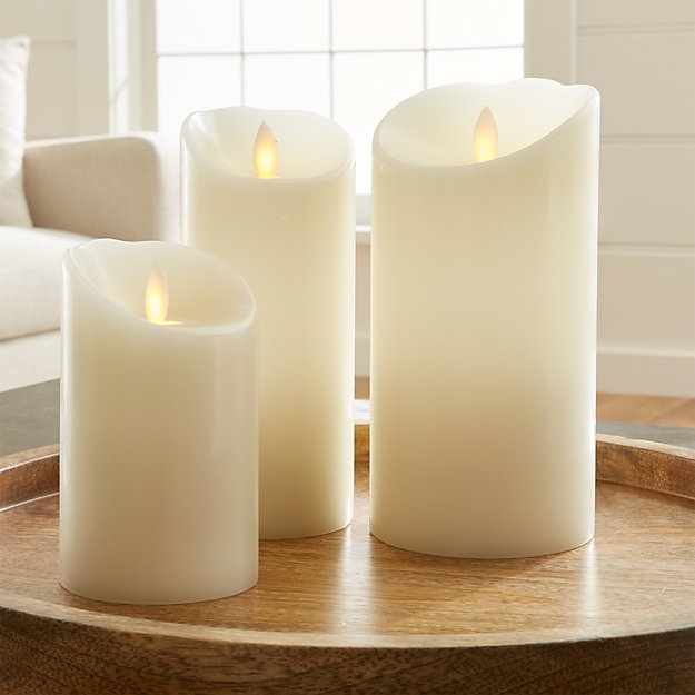 Realistic Flameless Candles Timer