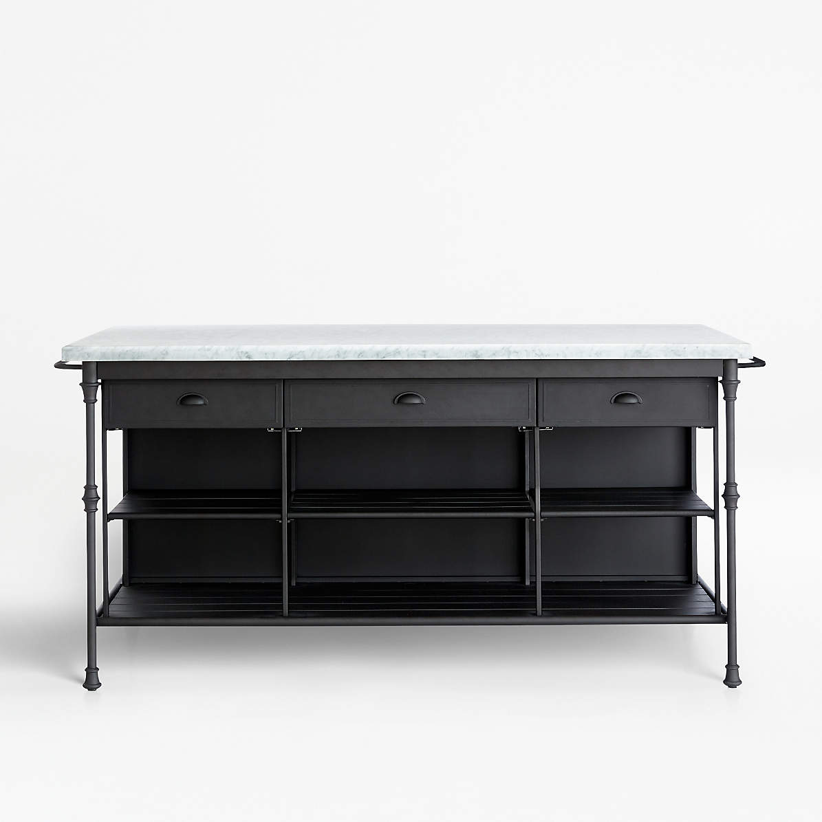 French Kitchen 72 Large Kitchen Island Reviews Crate And Barrel