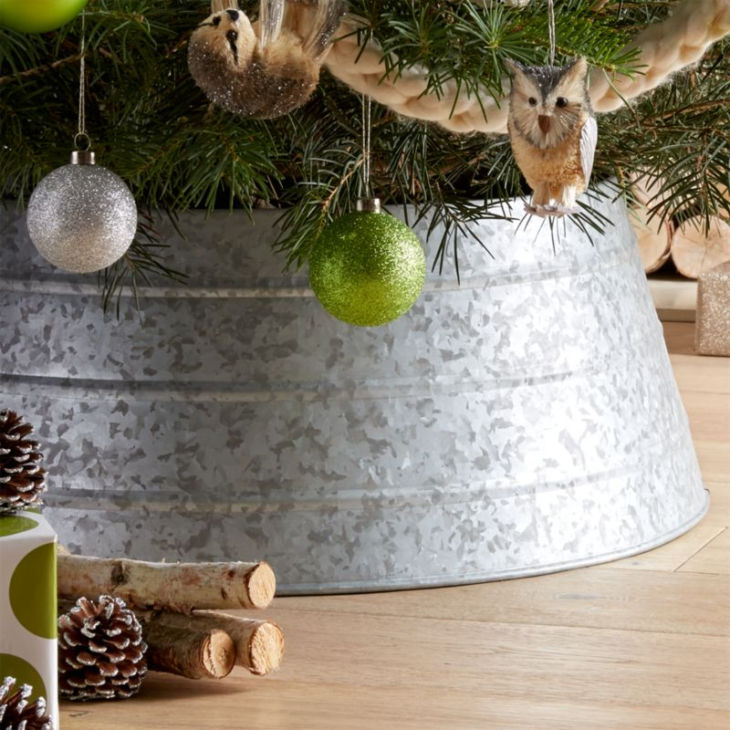 Galvanized Tree Collar Reviews Crate And Barrel
