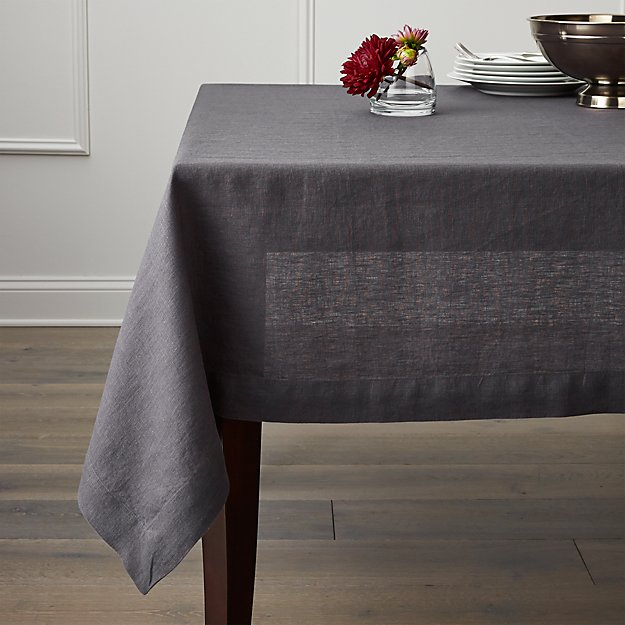 Grey Table Linens