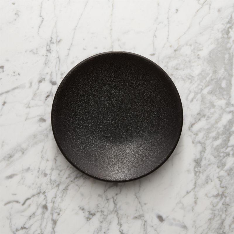 Jars Tourron Black Salad Plate Reviews Crate And Barrel