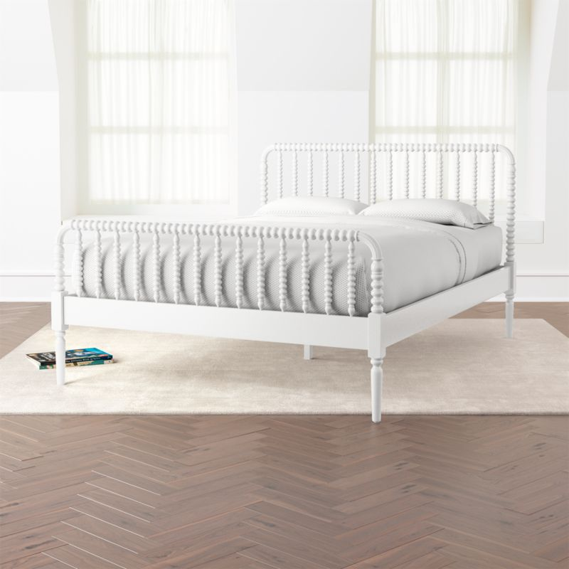Jenny Lind White Queen Bed Reviews Crate And Barrel