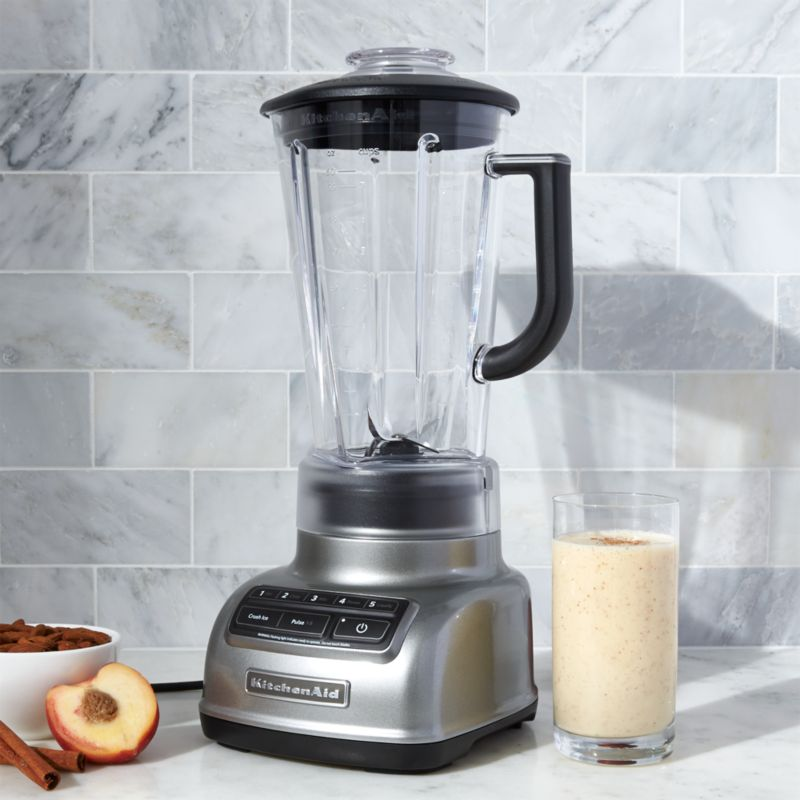 KitchenAid 5 Speed Contour Silver Diamond Vortex Blender