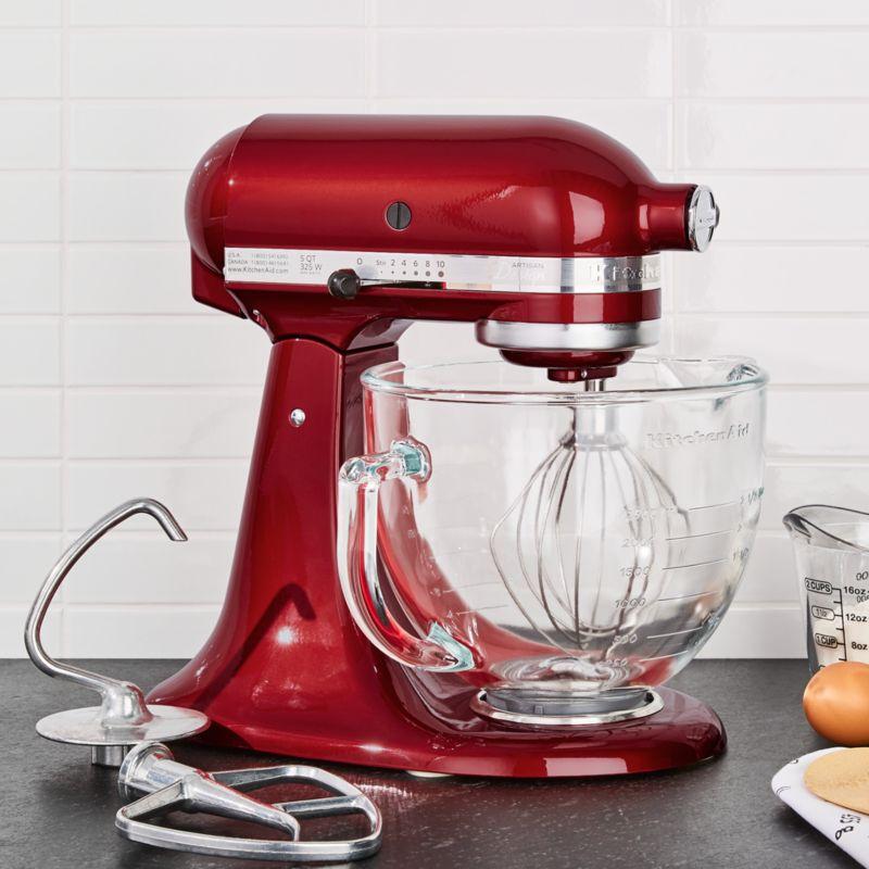 KitchenAid Artisan Design Series Candy Apple Red Stand