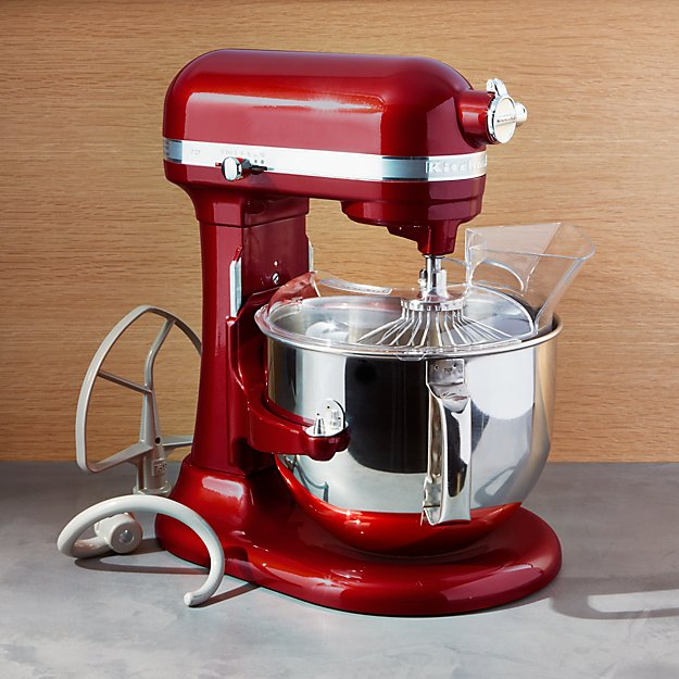 KitchenAid Pro Line Stand Mixer Candy Apple Red Crate