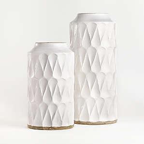 decorative vases glass and ceramic