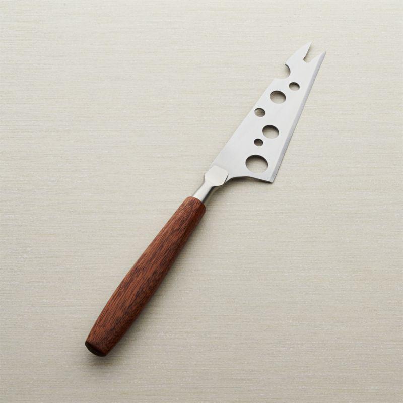 Mahogany Handle Cheese Knife Reviews Crate And Barrel