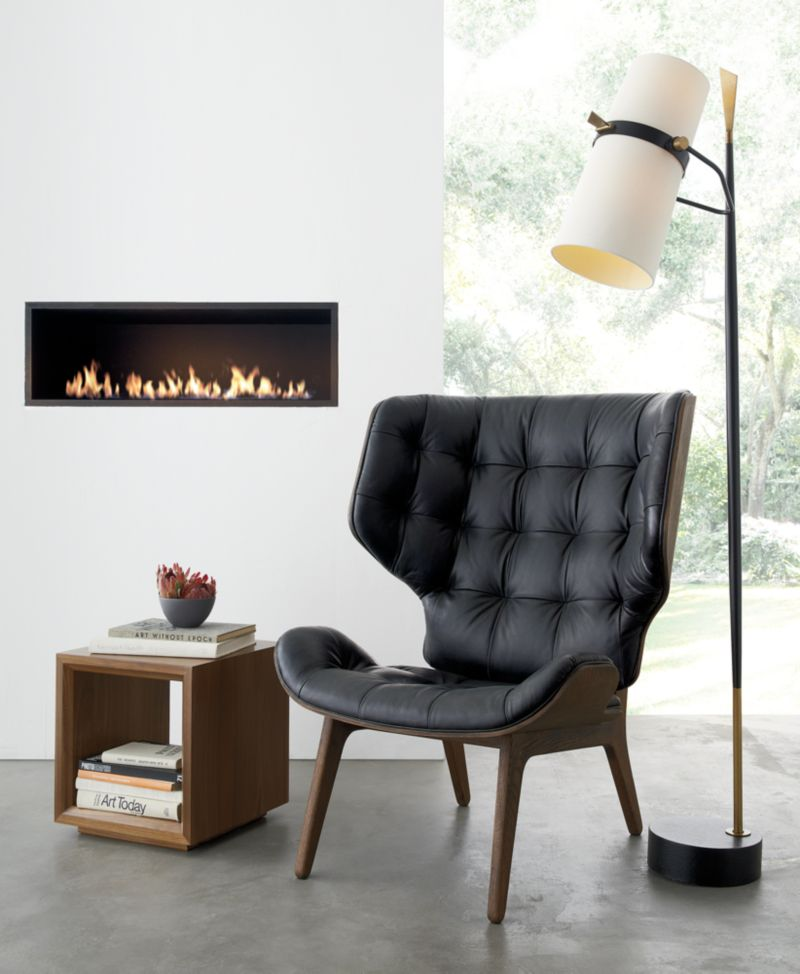 Riston Floor Lamp + Reviews   Crate and Barrel on Riston Floor Lamp  id=19126