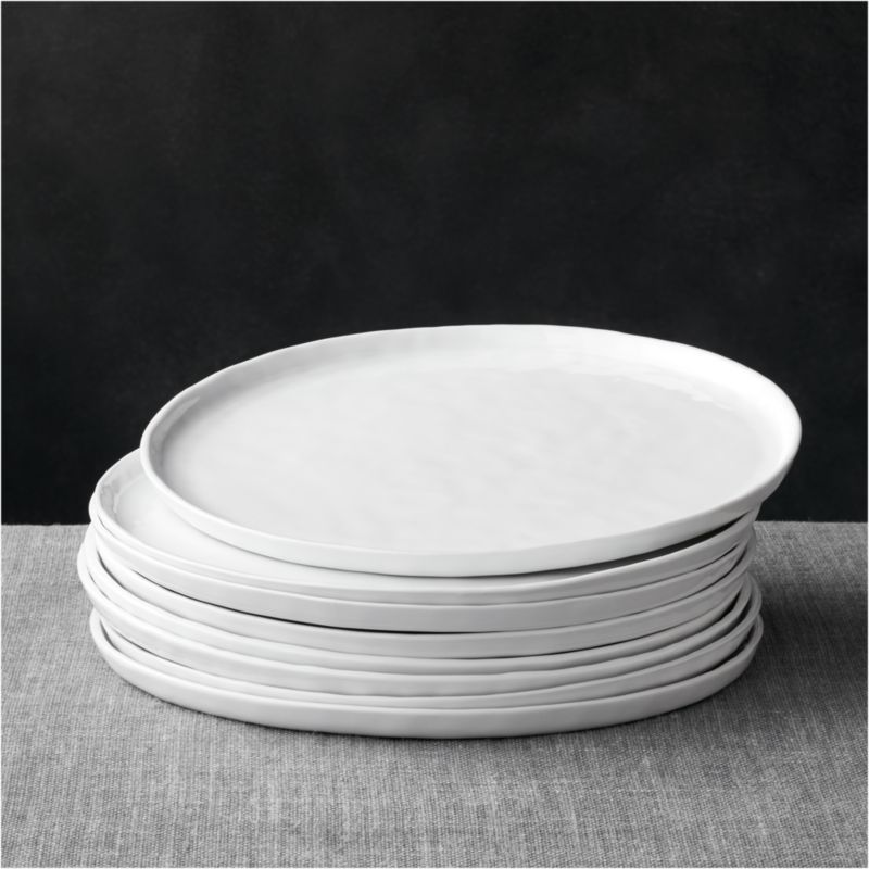 Mercer Dinner Plates Set Of Eight Crate And Barrel