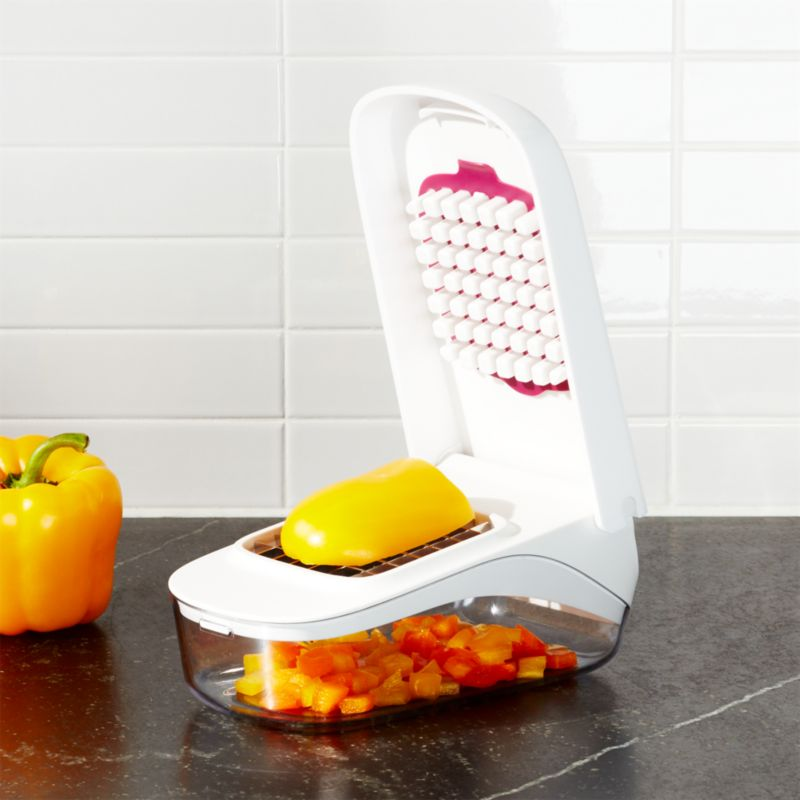 OXO Vegetable Chopper Reviews Crate And Barrel