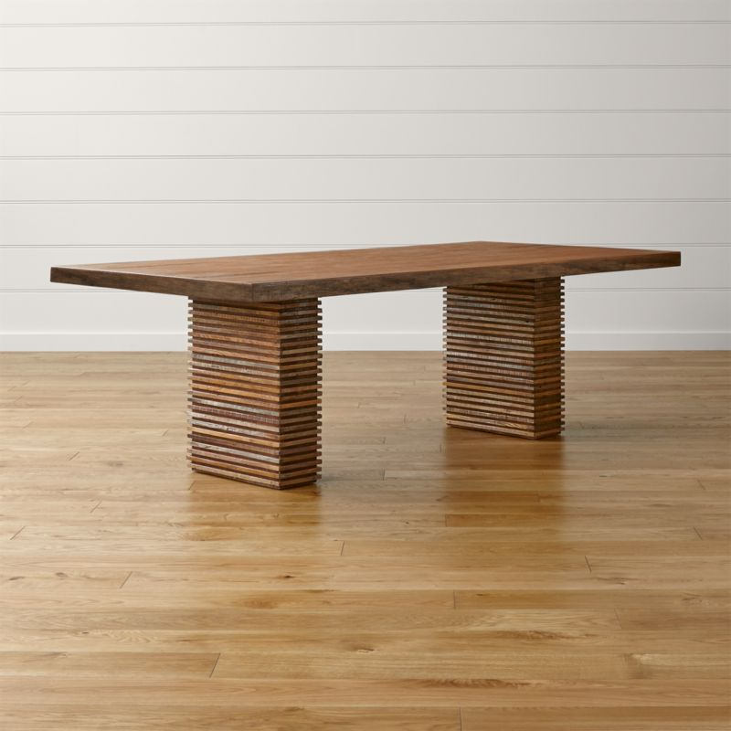 Paloma II Reclaimed Wood Dining Table Reviews Crate