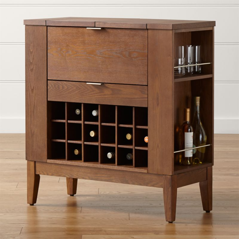 Parker Spirits Bourbon Cabinet Reviews Crate And Barrel