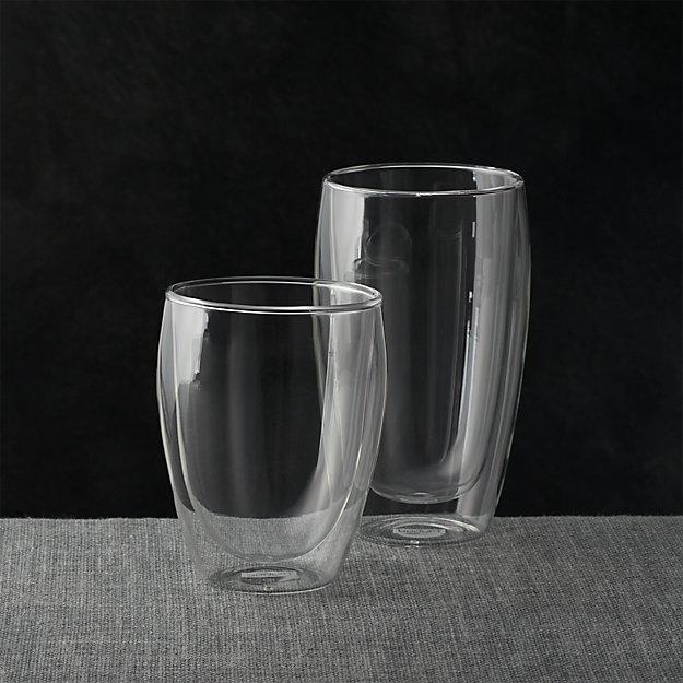 Bodum Pavina Glass Tumblers Crate And Barrel