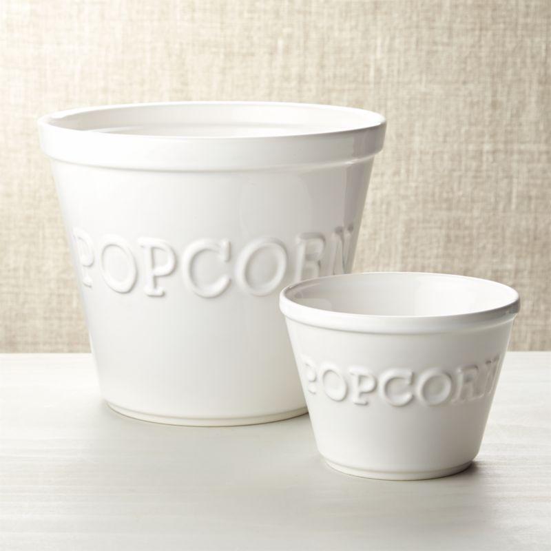Popcorn Bowls Crate And Barrel