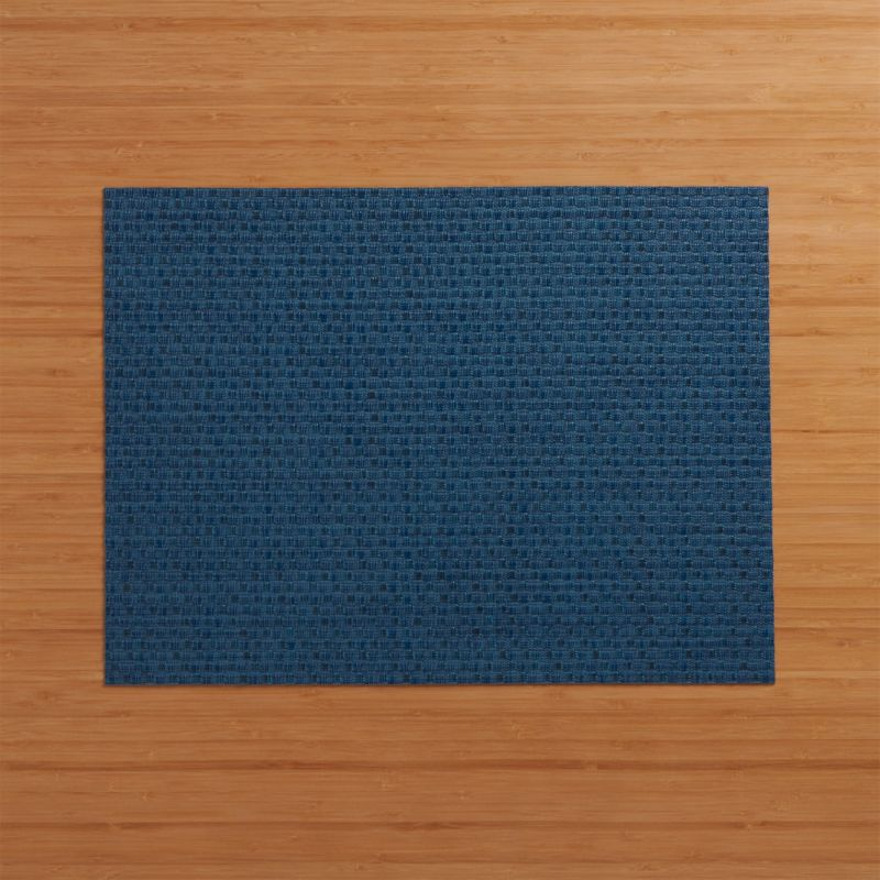 Chilewich Purl Blue Vinyl Placemat Reviews Crate And