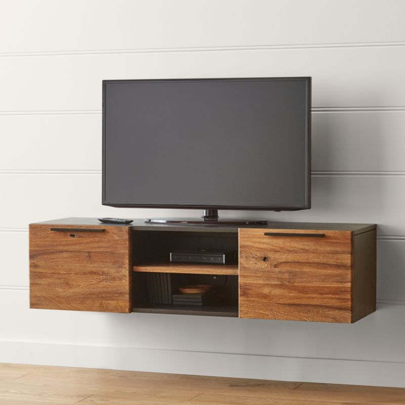 Rigby Natural 55 Small Floating Media Console Reviews