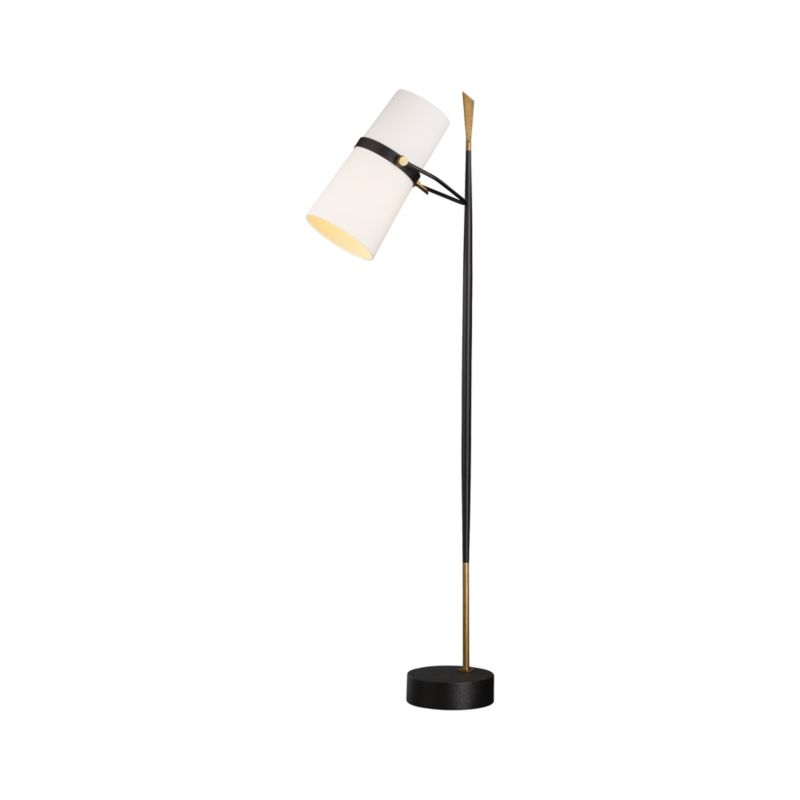 Riston Floor Lamp + Reviews | Crate and Barrel on Riston Floor Lamp  id=24769