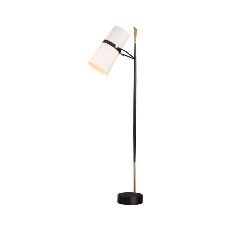 Riston Floor Lamp   Crate and Barrel on Riston Floor Lamp  id=36093